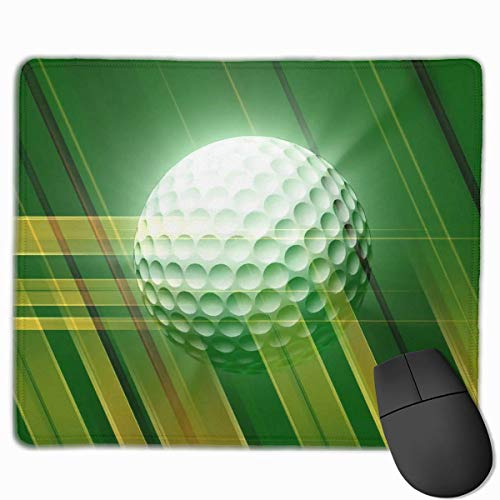 Glattes Mauspad Spinning Golfball Mobile Gaming Mousepad Work Mouse Pad Büropad