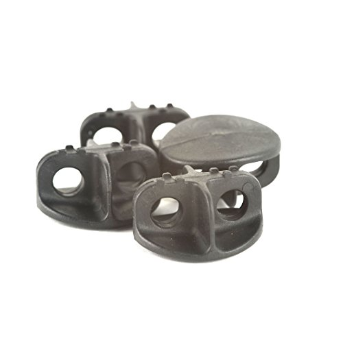 RUK Sports Bungee Deck Fittings - Pack of 4