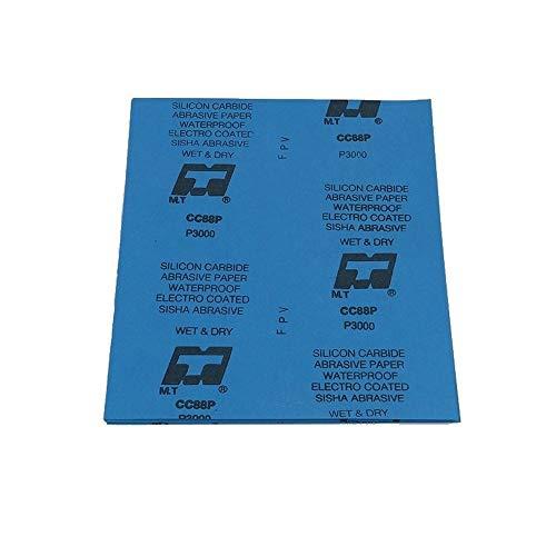 Nasses Und Trockenes Wasserschleifpapier, Präzisionsschleif- Und Polierschleifpapier (240-20Stück,Blau)