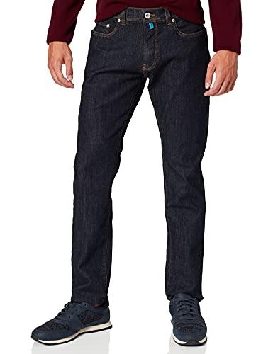 Pierre Cardin Herren Futureflex Tapered Fit Jeans, Blau (Dark Indigo Blue 19), W38/L34