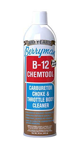 Berryman 0117C B-12 Chemtool Carburetor, Choke & Throttle Body Cleaner [VOC Compliant in All 50...