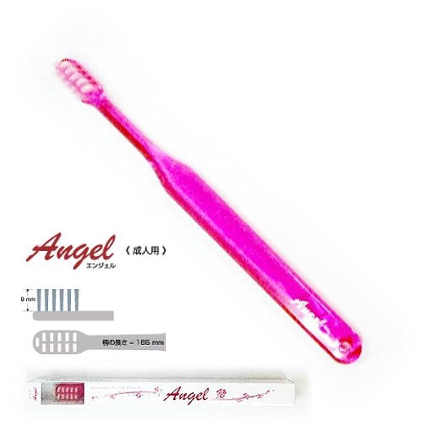 ディレイに同意する蒸し器歯科用 平穴植毛歯ブラシ 【エンジェル】 (ピンク)