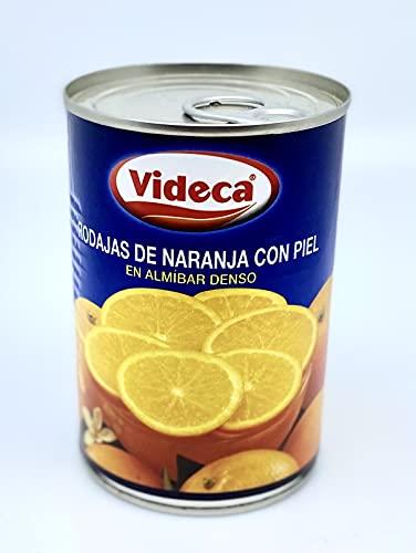 ビデカ オレンジスライス皮付 4号缶 410g