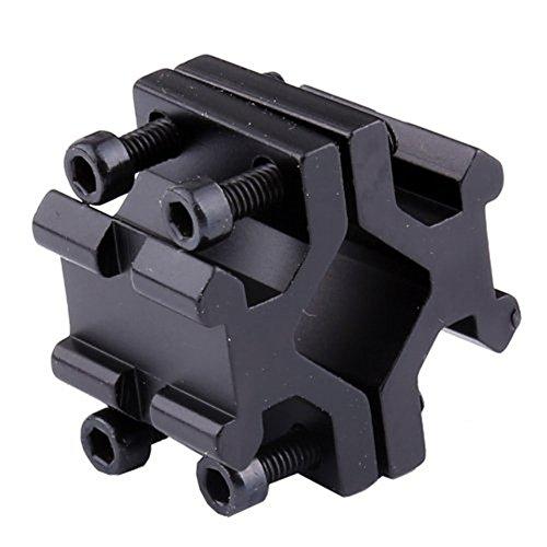 Hongbest Base Puntero láser Pistola Doble 20 mm