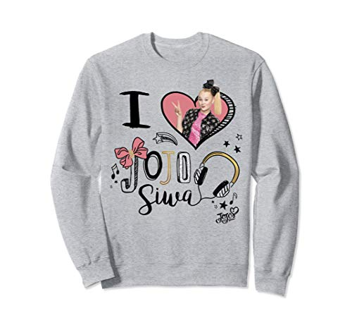 JoJo Siwa I Love JoJo Siwa Picture Heart Sweatshirt