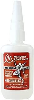 Mercury Adhesives M300FM FLEX 2oz (medium FLEX CA)