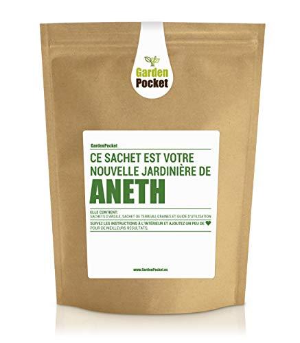 Garden Pocket - Kit de culture d'herbes aromatiques ANETH - Sac de pot de fleur