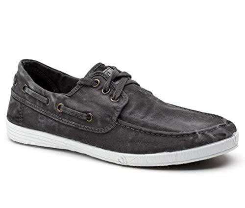 Natural World Eco Zapatos - 303E - Natural World Hombre - 100% EcoFriendly - Calzado Hombre Verano (42 EU, Negro)