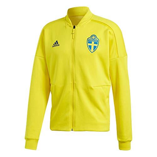 adidas Herren Z.N.E Schweden Jacke, Yellow, XL