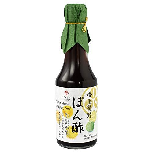 Ponzu Sauce (yuzu blend) Dressing Japanese Handmade【No chemical seasonings Non-GMO】 Natural brewing 300ml(10.14floz) 【YAMASAN】