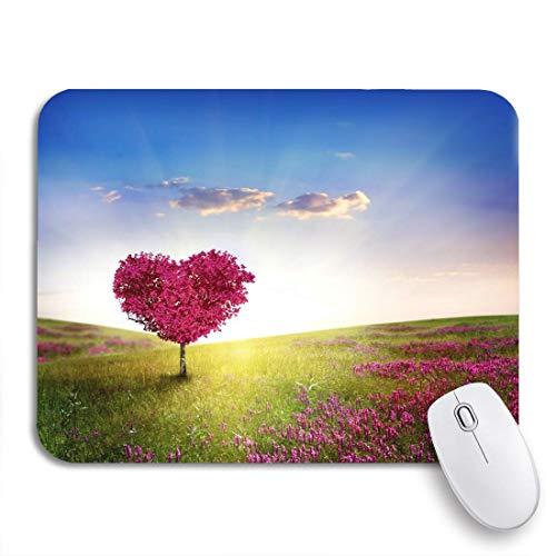 Gaming Mouse Pad Bunte Herz Baum der...