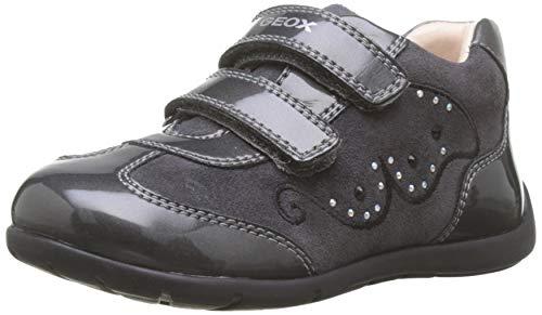 Geox B Kaytan A, Zapatillas para Bebés, Gris (Dk Grey C9002), 21...