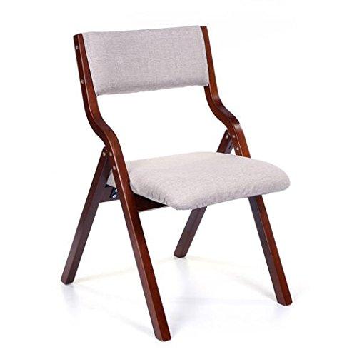 Klappstuhl Freizeit Stuhl Haushalt Moderne Einfache Nordeuropa Esszimmer Stuhl Schreibtisch Stuhl Rückenlehne Stuhl Restaurant Kreativität Holzklappstuhl Erwachsene (Farbe : D)