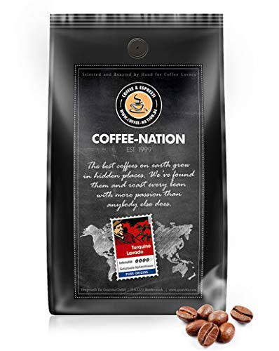 Coffee-Nation Turquino Lavado 1000g Bohnen | Spitzenqualität | Kaffeeliebhaber
