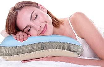 TruContour Soft Cooling Gel Memory Foam Pillow - Includes Bonus Fitted Cotton Pillow Case and Bonus Storage Case