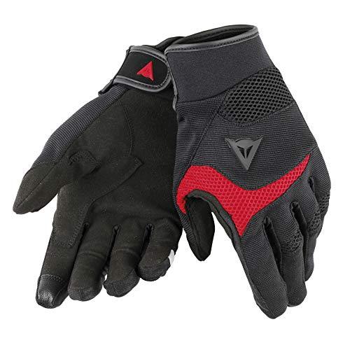 Dainese 1815875_606_L Guantes para moto, Negro/Rojo, L