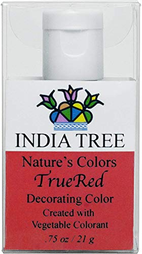 India Tree Natural Decorating Colour - True Red 21g