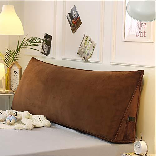 Goldenla kussen voor tweepersoonsbed, driehoekig, katoen, lavendel, van katoen, afneembaar, wasbaar