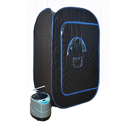 ZYQDRZ Home Dampfsauna, Faltbares Sauna-Badezimmer-Zelt, Kann Das Persönliche Gewicht Reduzieren, Einschließlich Fernbedienung