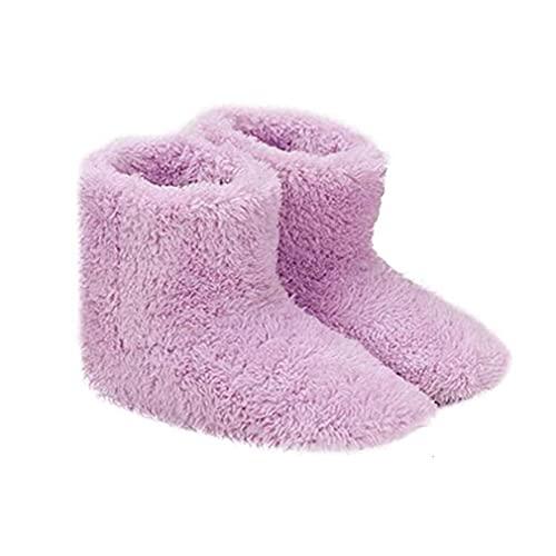 Zapatillas climatizadas Calefacción USB Calefacción de invierno Zapatillas de calefacción Plantillas de calefacción para buenas noches Dormir 5V Calentador, zapatería Escudos