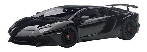 AUTOart–74556–Modellbau–Lamborghini Aventador LP750–4SV–2015–Echelle 1/18, schwarz
