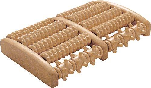 """Fußmassageroller \"""" Fußreflexzonen anregen \"""" 10 Holzwalzen"""