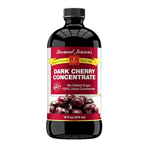 Bernard Jensen Black Cherry Concentrate Extra Quality, 16 Fluid Ounce