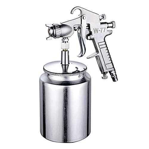Pulverizador de pintura, pistolas de pintura y accesorios, lata de pulverización de atomización con aerógrafo neumático para automoción, para pintura de látex, imprimación-Caliber 2.0