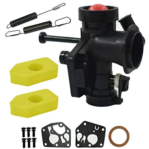 ZCX Zcxiong Metal New Carburetor Kit para 795477 Reemplaza 498811 795469 794147 699660 Fit for Castel Garden Fit for Champion Fit for Lawnking