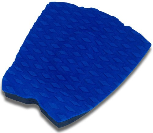 PUNT SURF Surfboard Traction Pad - 3 Piece Surf Board & Skimboard Stomp Foot Pad with Arch Bar - 3M Adhesive - Maximum Kick Tail Deck Grip for Surfing & Skimboarding - Sticks Forever on Your Board