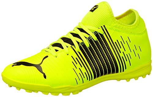 Puma Future Z 4.1 TT, Scarpe da Football Uomo, Yellow Alert Black White, 43 EU
