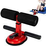 Durotan Sit Up Bar,Upgraded Design Suction Sit-up Floor Bar with Comfortable Padded Ankle and...