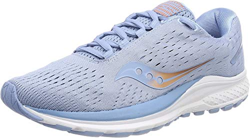 Saucony Jazz 20, Zapatillas de Running para Mujer, Azul (Light Blue/Copper 30), 40 EU