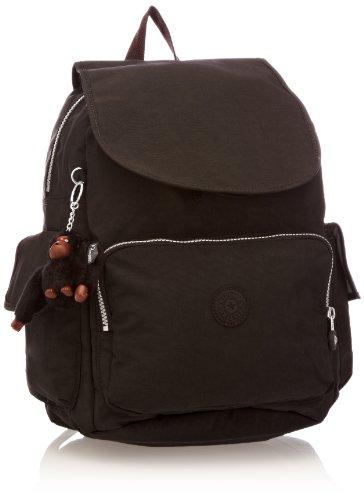 Kipling City Pack B, Sac porté dos - Noir (Black),...