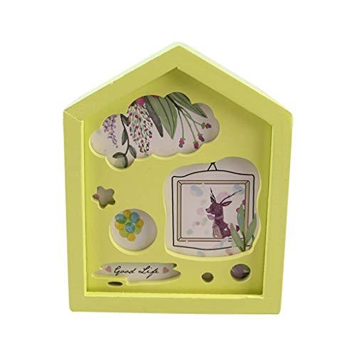TwoCC Mini hölzerne Spieluhr, handgemachte Baby-Dusche und Geburtstagsgeschenke für Jungen und...