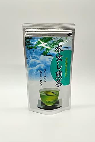 Té verde japonés puro Sencha, 20 x 5 g de bolsitas de té, té Kikukawa Sencha de la prefectura de Shizuoka, Mizudashi frío o caliente, importado de Japón