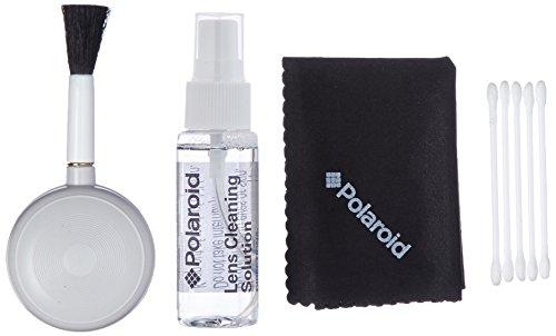 Polaroid Ploy005 - Kit de Limpieza para cámara Digital y Camcorder, Color Negro