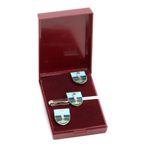 Royal signaux Boutons de manchette et tiegrip regimental Coffret cadeaux et les accessoires