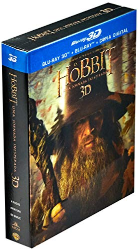 O Hobbit Parte 1 3D Combo [Blu-ray]