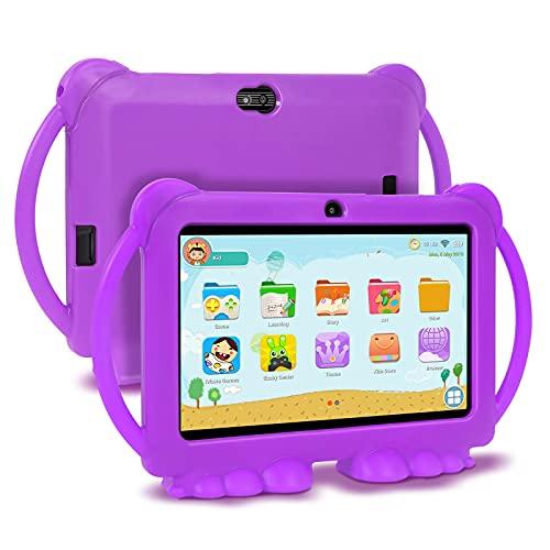 GAOword Una Tableta Android de 7 Pulgadas Adecuada para la educación y el Aprendizaje de los niños, Equipado con un procesador de Cuatro núcleos 1 GB / 16GB