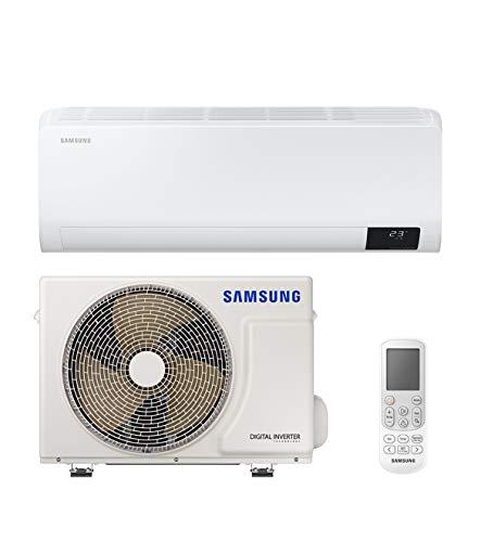 Samsung Clima Luzon Climatizzatore Monosplit, 12000 BTU, GAS R32, AR12TXHZAWKNEU+AR12TXHZAWKXEU, [Classe di efficienza energetica A++/A+]