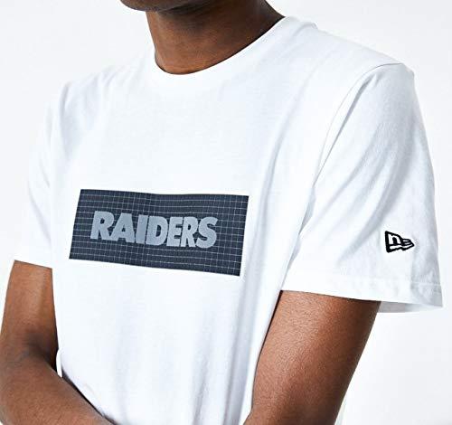 New Era Camiseta Oakland Raiders Modelo Ripstop Print Box tee OAKRAI Marca