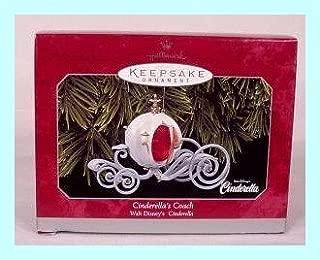 Disney Cinderella Cinderella's Coach 1998 Hallmark Ornament