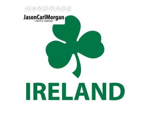 JasonCarlMorgan RCG Allzweck-Aufkleber, Irland, für Auto, Fenster, Laptop, Wand, Vinyl, 75 mm