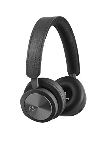 B&O PLAY by Bang & Olufsen Beoplay H8i Wireless Bluetooth On-Ear Headphones with Active Noise Cancellation (ANC), Transparency mode and Microphone Black - 1645126