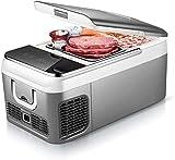 El coche de refrigerador (18mdash; 26L), arcón congelador portátil, con enfriamiento rápido, ahorro de energía y de bajo consumo, a prueba de golpes, resistente a choque, for el coche 12V 24V, 220V In