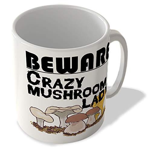 McMug Crazy Mushroom Lady - Mug