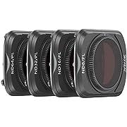 SKYREAT Mavic Air 2 Kamera Objektiv PL Filter Set 4er Pack- (ND8/PL, ND16/PL, ND32/PL, ND64/PL) Kompatibel mit DJI Mavic Air 2 Drone