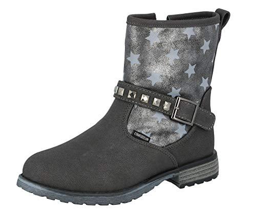 Lico Mädchen Ria Star Mode-Stiefel, Grau (Grau), 36 EU
