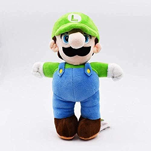 SongJX-Love Super Mario Spielzeug Cartoon Plüschtys Stehen grün Hut Peluche Spielzeug weiche Puppen für Kinder Gzzxw